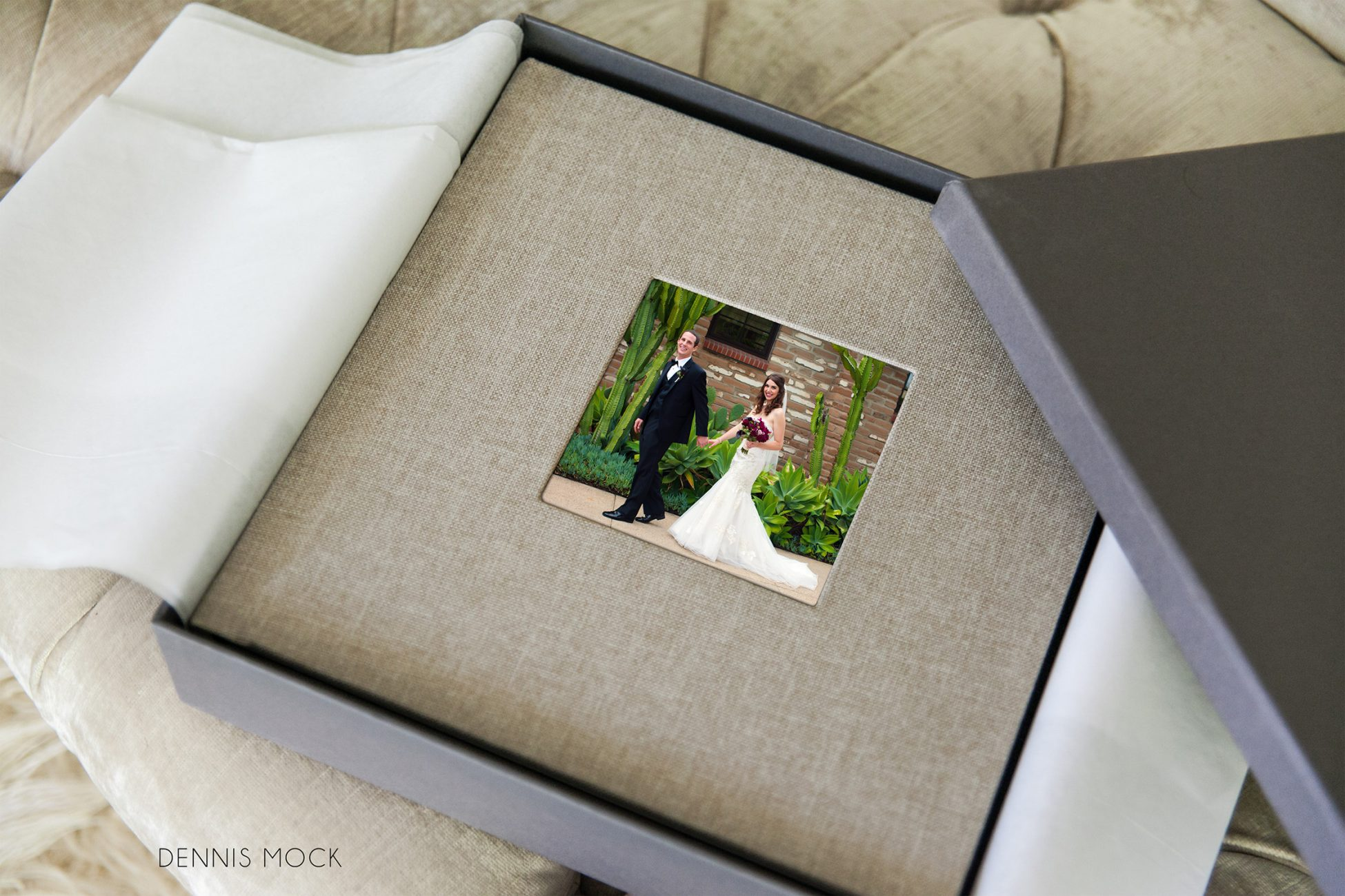 view Estancia Hotel Wedding . Couples beautiful hand-cratfted linen bound wedding book designed by dennis mock photography to tell your story of the day . Your first family heirloom .