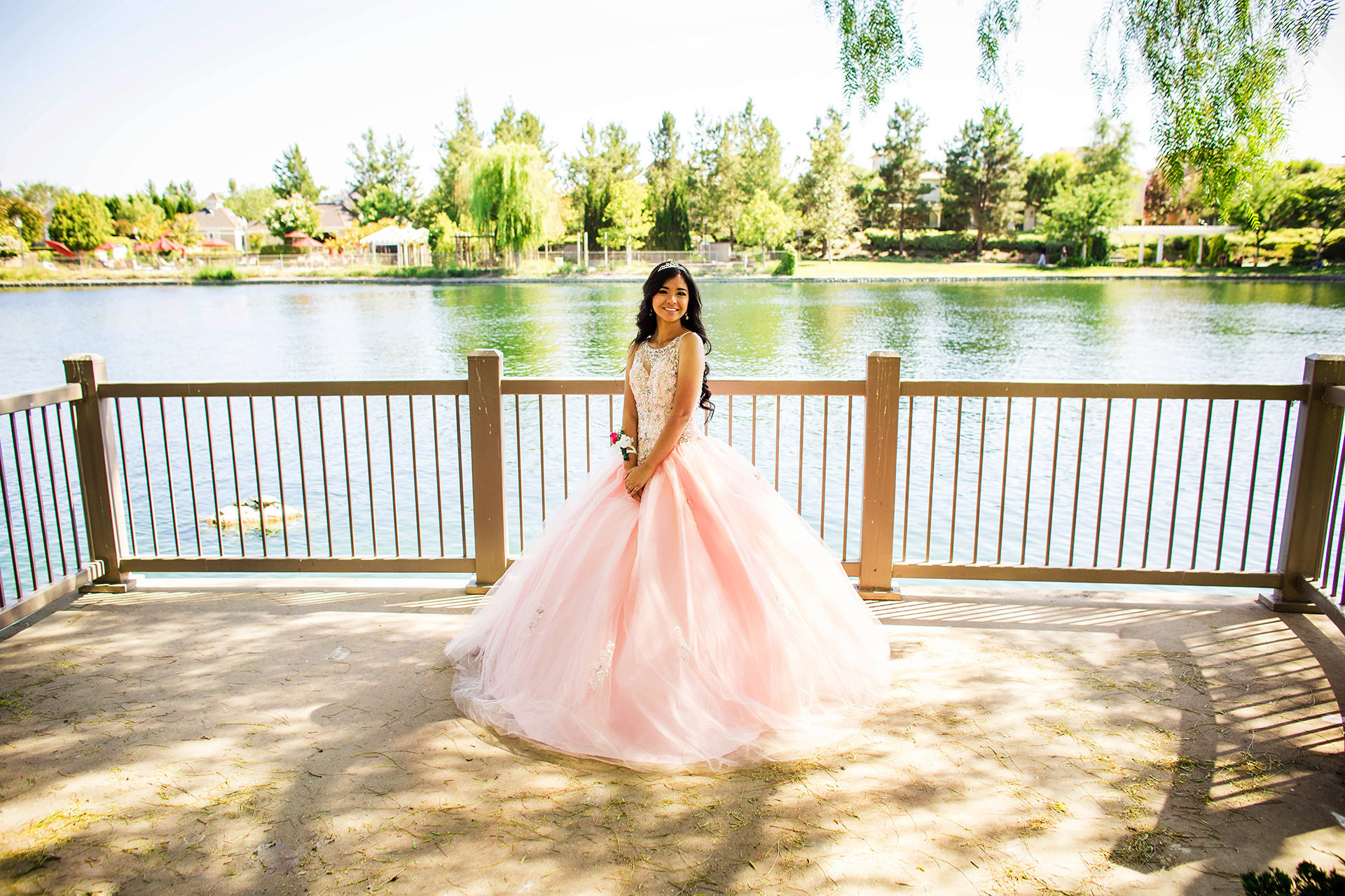 Debutante's 18th birthday captured in Temecula California by Family Photographer Dennis Mock
