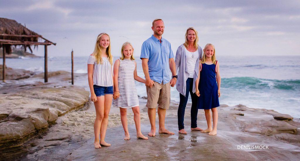 LSan Diego family beach photography by Dennis mock photographer
