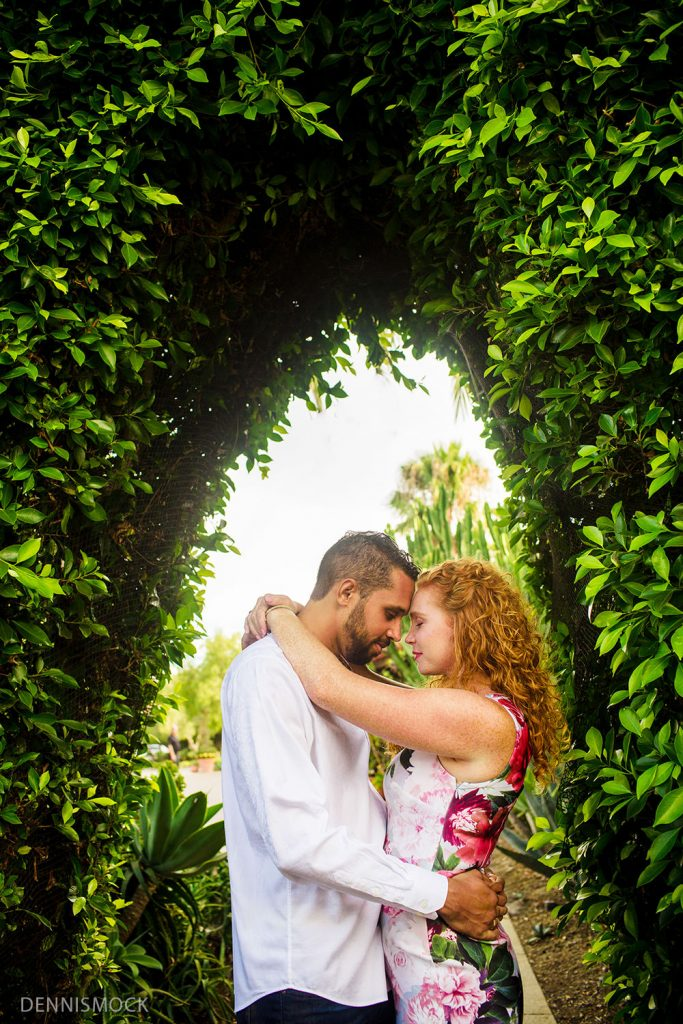 San Diego engagement photography by Dennis mock photographer