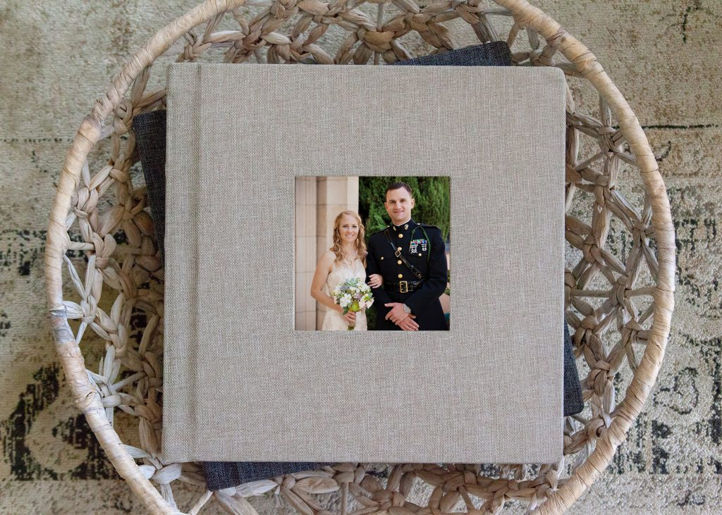 beautiful San Diego wedding album