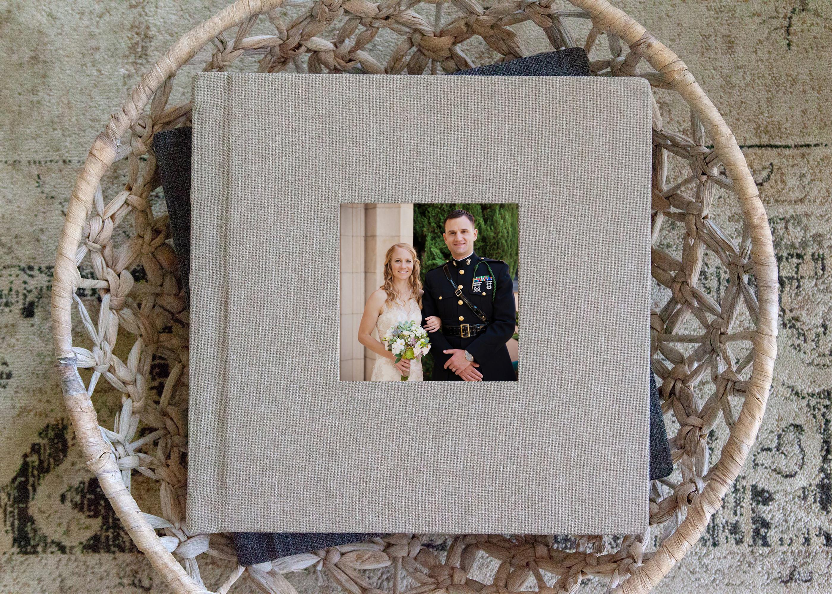beautiful San Diego wedding album