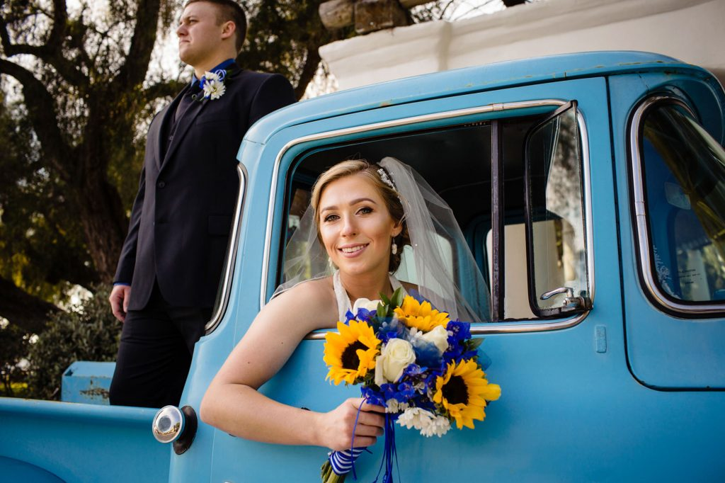 wedding photography presidio park in San Diego