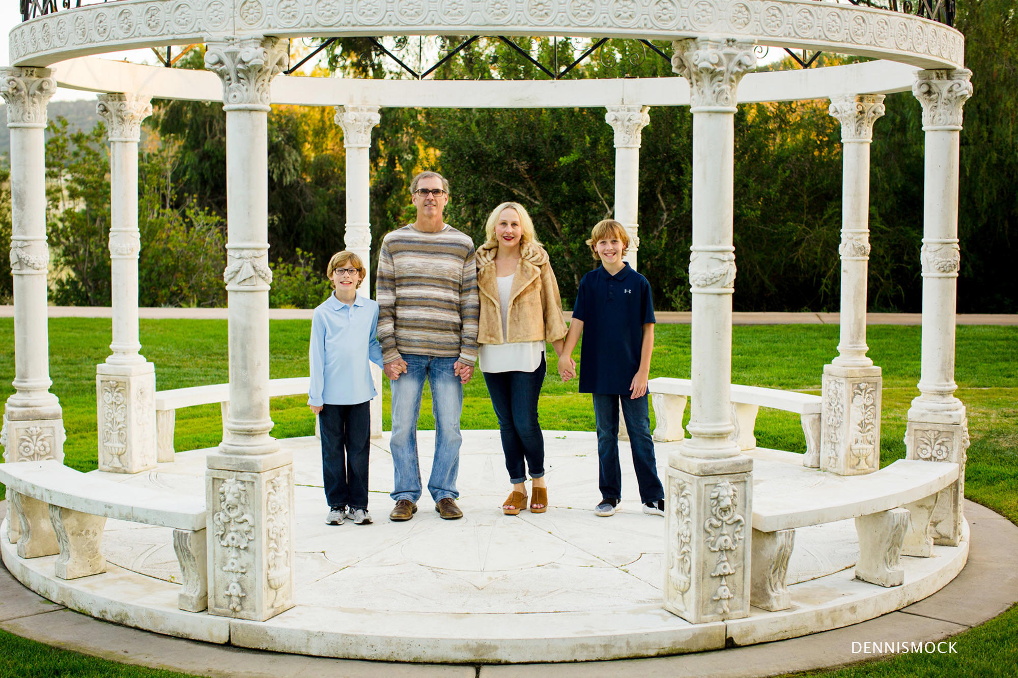 Fairmount Grand Del Mar Family portraits