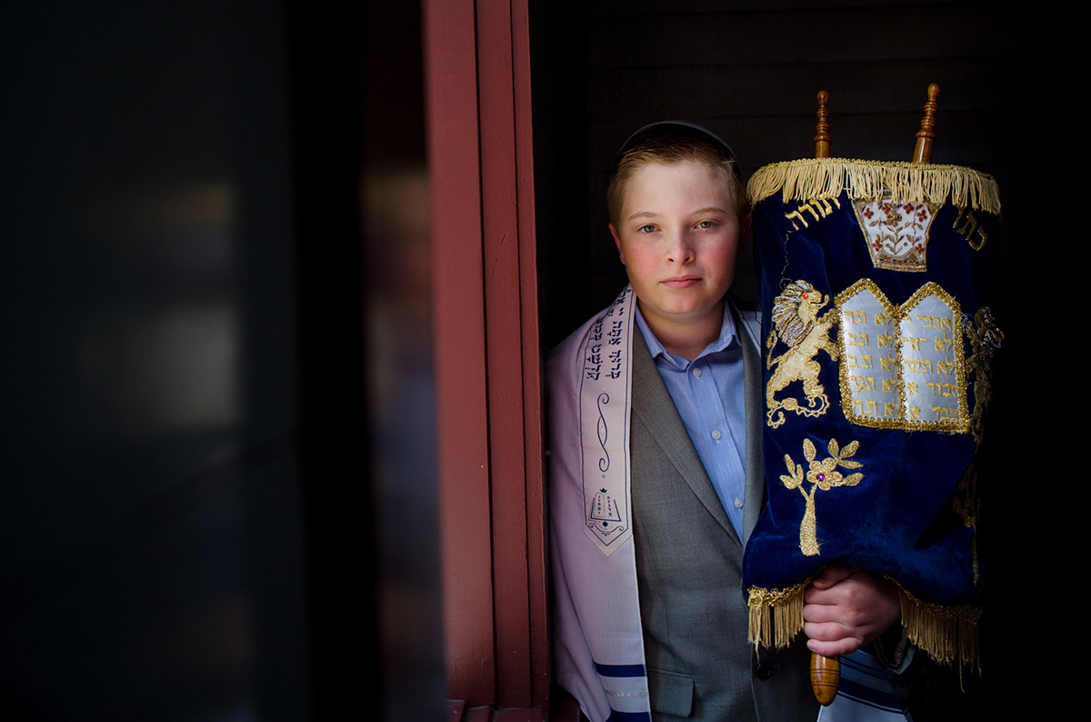 San Diego bat mitzvah portrait in old town