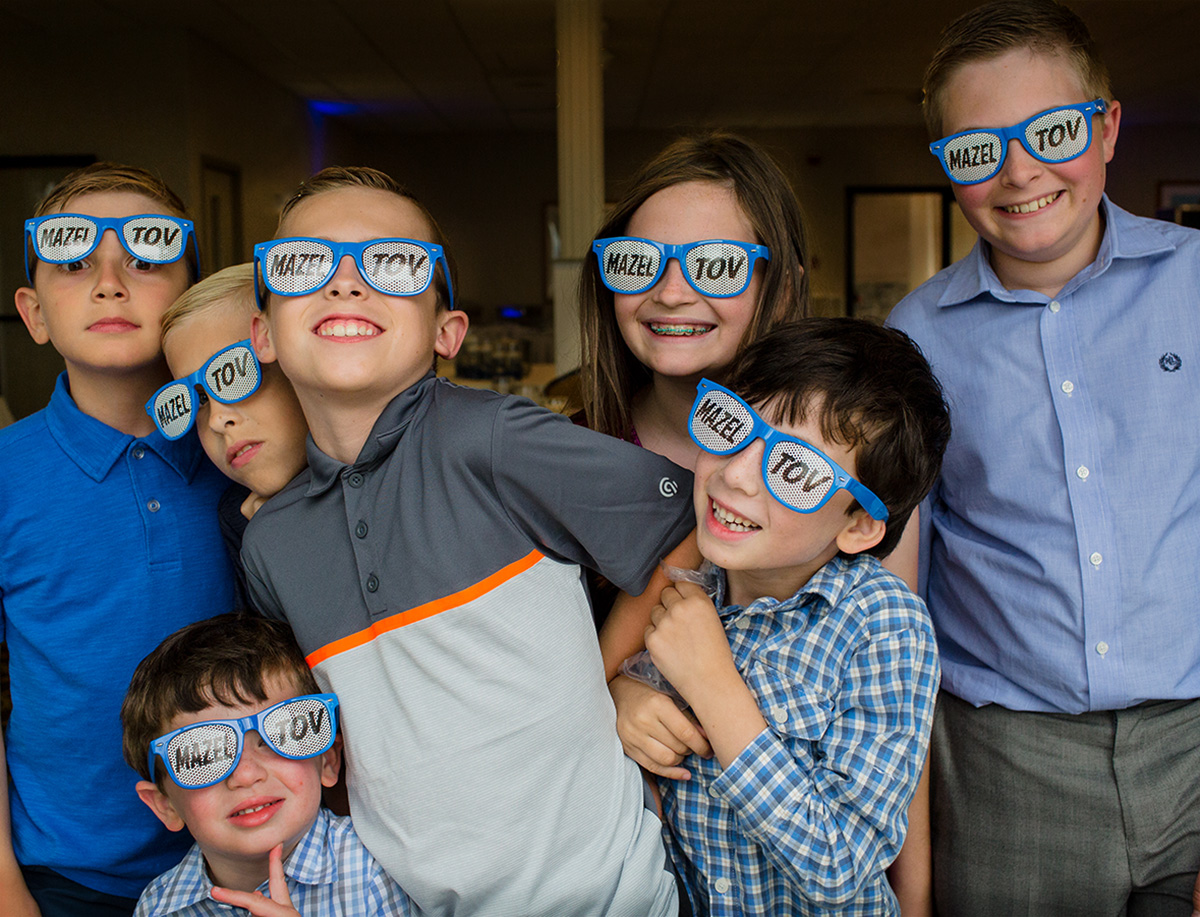mitzvah party kids celebrate in San Diego